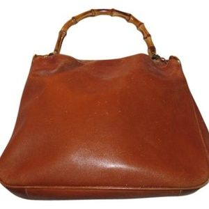Gucci Bags - Vintage Caramel Brown Leather Hobo